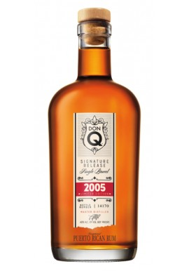 RON DON Q SINGLE BARREL 2005